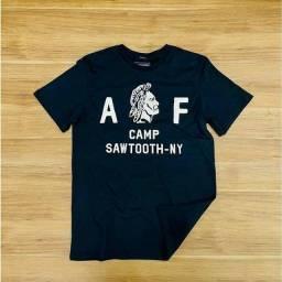 Camiseta Abercrombie Fitch algodão peruano tamanho G