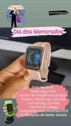 Smartwatch D20 Y68 e fone bluetooth é na Smart Shopping