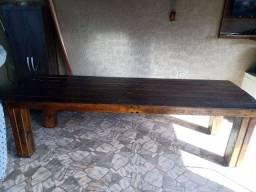 Título do anúncio: Mesa de madeira novíssima!!!