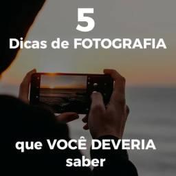 5 dicas de fotografia que você deveria saber