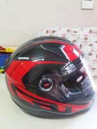 Capacete LS2 FF 396 - Diablo - Carbono - Novo, na caixa!!