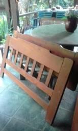 Conjunto de 3 camas madeira maciça Oportunidade!