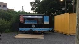 Food truck troco por moto