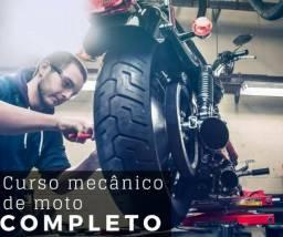 Academia do mecânico - Porfissionalizante Mecânico de Motos (Curso Online + certificado)