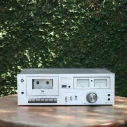 Tape Deck Da Marca Technics M7 Dolby System - No Estado!
