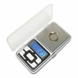 Mini Balança Digital Alta Precisão Bolso Portátil 500gr