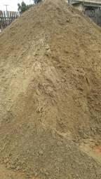 Promoção de areia e brita