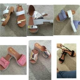 Sandalias rasteirinha e sapatilhas