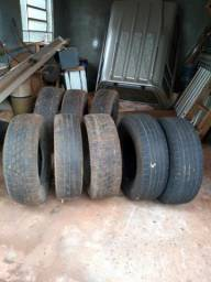 Vende-se oito pneus usados - 2019