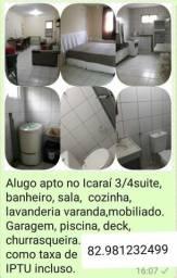 Apto 3/4 Aluguel parte alta do Icaraí