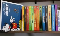 Coleção Disney Capa Dura 16 Hqs + 3 gibis de brinde
