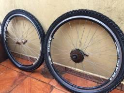 Aro Aero 26 com pneu