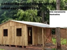 Casa pre fabricada 2 quarto 42m