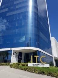 Excelente Sala Comercial no ITC   40 Metros   3 Vagas   6 Elevadores
