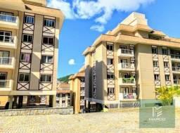 Apartamento com 1 dormitório à venda, 72 m² por R$ 340.000,00 - Bom Retiro - Teresópolis/R