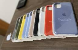 Capinhas Originais Apple e peliculas 5D gel IPhones 7/8 Plus ao IPhone Pro Max