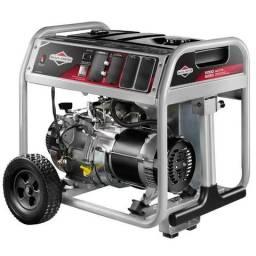 Gerador de Energia à Gas S5000 389CC 6,25Kva 110/220V Partida Manual Briggs and Stratton