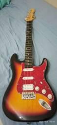 Guitarra PHX 3ts + cubo Sheldon Gt1200 e cabo reforçado