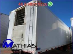 Carroceria frigorifica 16 paletes piso de aluminio canaletado Mathias Implementos