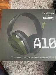 Fone Headset Gamer Astro A10 Call Of Duty Edition Xbox One Ps4 Pc
