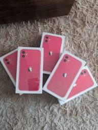 IPHONE 11 red 64gb novo lacrado (Olinda import)