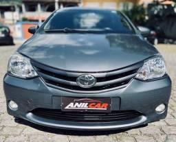 Toyota Etios X 1.3 2016 Cinza Manual Flex