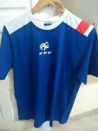 Camisa Futebol França passeio