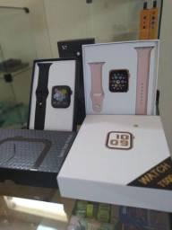 SmartWatch iwo 13 X7 - Troca Pulseira e Pode por foto da tela