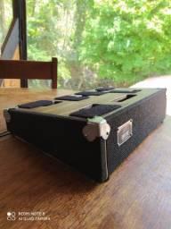 Pedal Board D40 Custom (40 x 26 cm de área útil) Black- Só pedal board