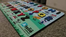 Conjunto Pedagógico Montessori -4 Tabuleiros