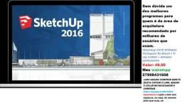 Sketchup 2016 3264bits Português Do Brasil + V-ray 2.0btis + ativador permanente