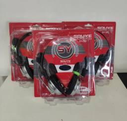 Fone Headphone Gamer P2 Cabo Extenso E Reforçado<br><br>