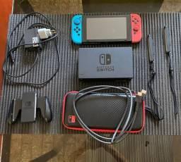 Nintendo Switch pouco uso