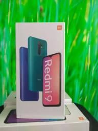Redmi 9 da Xiaomi!  Novo Lacrado com entrega hj!