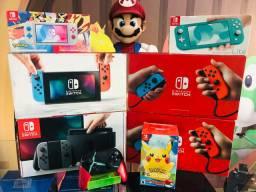 Nintendo Switch vários modelos. Visite nossa loja!