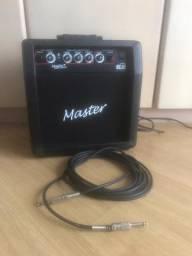 Caixa de Som Amplificador Master GT-15