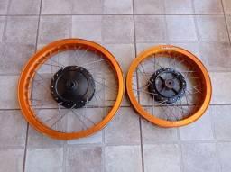 Rodas de alumínio Honda Biz 100 e 125
