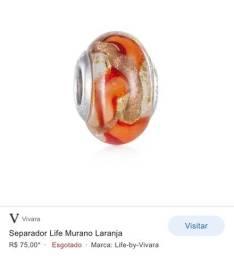 Berloque separador Murano - Original Vivara