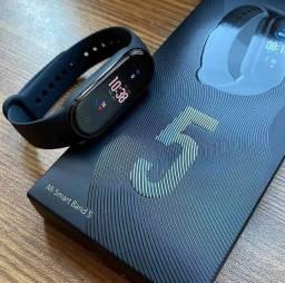 Mi Band 5 Xiaomi Smartband Versão Global Pulseira Inteligente Promoção