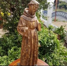 São Francisco em madeira antigo