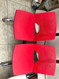Título do anúncio: Cadeira Para Recepção Nova longarina 2 lugares modelo strike 2 E 3 Lugares Cromada Tsmob
