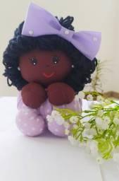 Boneca Bebê Afro