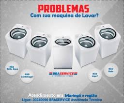 Conserto de Maquina de Lavar e Geladeira em Maringa 30340090