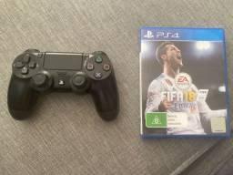 Fifa 2018 + Joystick PS4