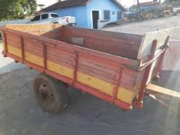 Carreta de trator 2 rodas