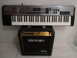 Teclado Sintetizador Roland Rs-70 + Amplificador Meteoro Wector 50