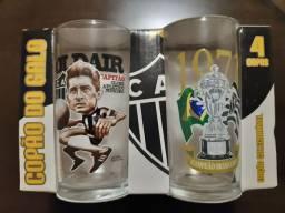 Jogo de copos  - Galo - comemoração 1971.