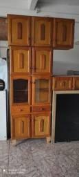 Armários madeira 4 peças- ENTREGO