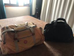 Lindas bolsas  de viagem