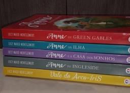 """Título do anúncio: 5 livros da saga """"Anne"""""""